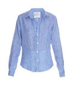 Frank & Eileen   Barry Gingham-Check Linen Shirt