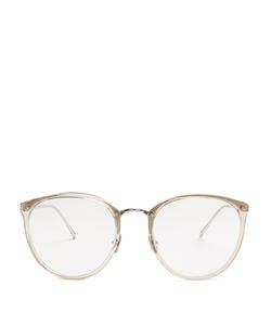 Linda Farrow | Round-Frame Glasses