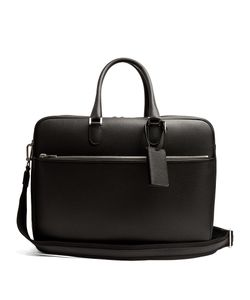 Valextra | Grained-Leather Holdall