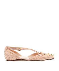 Gucci | Unia Studded Leather Flats
