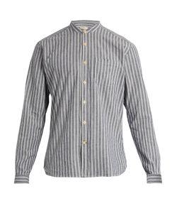 Oliver Spencer | Grandad-Collar Cotton Shirt