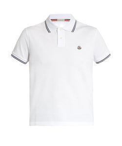 Moncler | Short-Sleeved Cotton-Piqué Polo-Shirt
