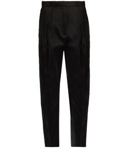 Maison Rabih Kayrouz   Pleated-Front Tailo Trousers