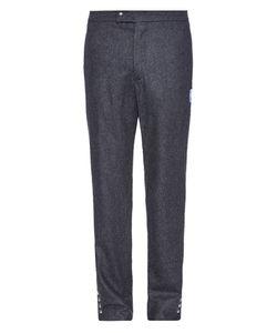 Moncler Gamme Bleu   Slim-Leg Wool-Flannel Trousers