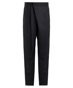 Kolor   Relaxed-Fit Pleat-Front Wool Trousers