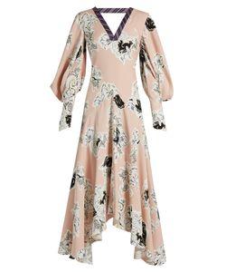 Roksanda | Zenkuprint Double-Georgette Gown