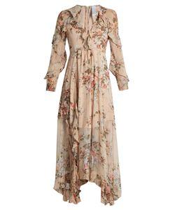 Zimmermann | Aerial Flounce Silk Dress