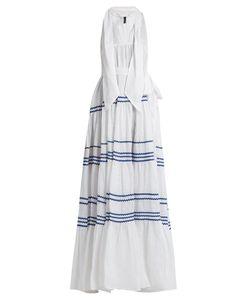 Lisa Marie Fernandez | Ric-Rac Trimmed Linen Maxi Dress