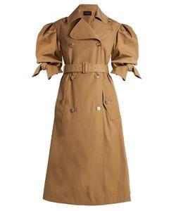 Simone Rocha | Short-Sleeved Gabardine Trench Coat