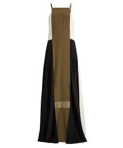 ZEUS + DIONE | Maya Pleated-Side Panelled Silk Dress