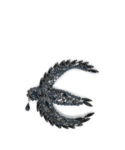 Sonia Rykiel | Crystal-Embellished Swallow Brooch