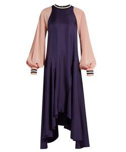 Roksanda | Vasara Bi-Colour Crepe De Chine Dress