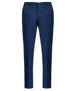 Ermenegildo Zegna   Cotton Chino Trousers