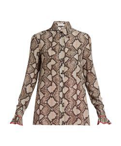 Altuzarra | Clovis Snake-Print Shirt