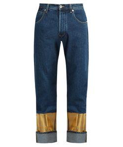 Loewe | Printed-Cuff Straight-Leg Jeans