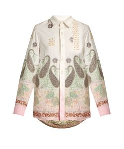 Ashish | Paisley-Embroide Cotton Shirt