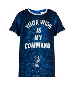 Ashish | Sequin-Embellished Silk-Georgette Top