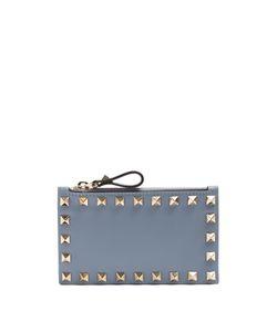 Valentino | Rockstud Leather Cardholder