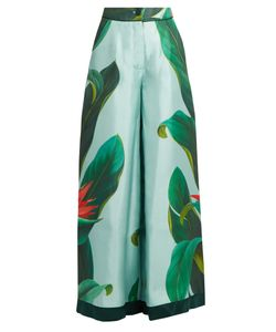 F.R.S - FOR RESTLESS SLEEPERS | Narciso Flower-Print Silk Pyjama Trousers