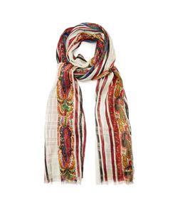Etro | Paisley And Striped-Print Silk Scarf