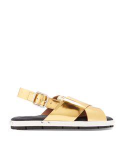 Marni | Fusbett Slingback Leather Sandals