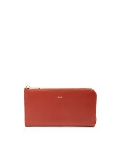 A.P.C. | Zip-Around Leather Wallet