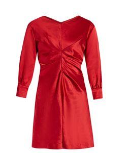 Isabel Marant | Rad V-Neck Satin Dress