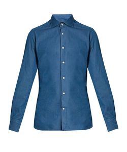 Ermenegildo Zegna | Spread-Collar Cotton Shirt