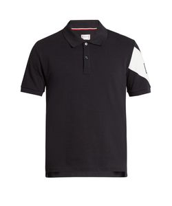 Moncler Gamme Bleu | Cotton-Piqué Polo Shirt