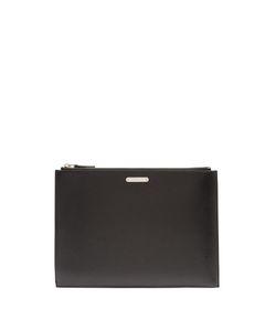 Saint Laurent | Logo-Plaque Leather Document Holder