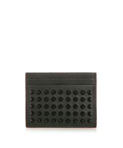 CHRISTIAN LOUBOUTIN   Kios Spike-Embellished Leather Cardholder