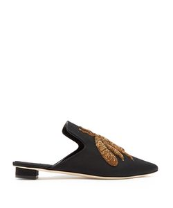 SANAYI 313 | Rango Embroide Faille Slipper Shoes