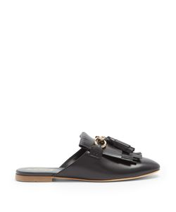 Tod's | Fringe And Tassel Leather Slip-On Loafers