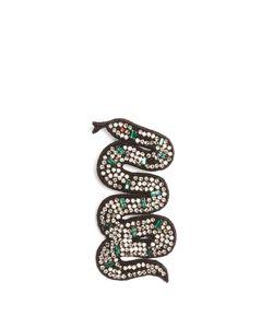 Gucci | Snake Crystal-Embellished Brooch