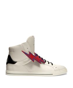 Fendi | Faces High-Top Leather Trainers