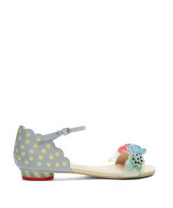 Sophia Webster | Lilico Sequin-Embellished Leather Flat Sandals