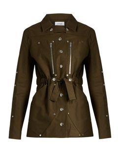 Courrèges | Belted Stretch Cotton Jacket