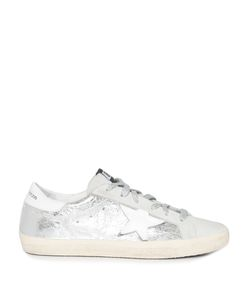 Golden Goose Deluxe Brand | Super Star Low-Top Leather And Suede Trainers