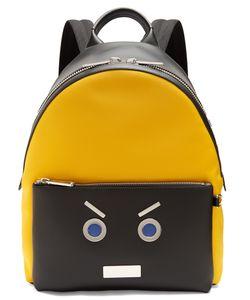 Fendi | No Words Leather-Trimmed Backpack