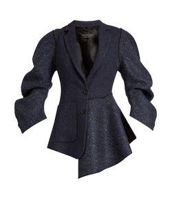 Burberry | Sculptu-Sleeve Tweed Jacket