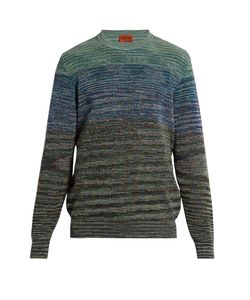 Missoni | Crew-Neck Striped Cotton-Blend Sweater