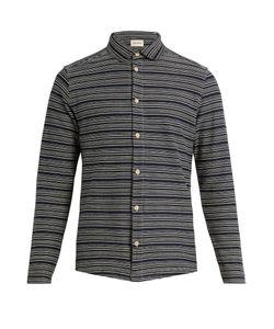 Oliver Spencer | Striped Cotton-Jersey Shirt
