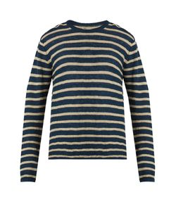 Oliver Spencer | Seymour Striped Linen And Cotton-Blend Sweater