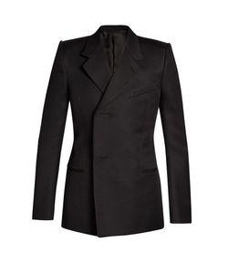 Balenciaga   Shrunken-Shoulder Blazer