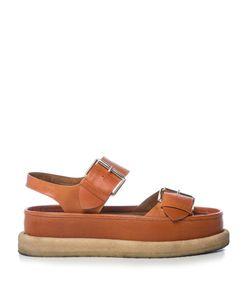 Stella McCartney | Submerge Faux-Leather Flatform Sandals
