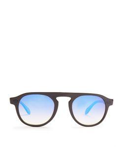 Garrett Leight   Harding Square-Frame Sunglasses