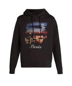 Balenciaga | Paris-Print Hooded Sweatshirt