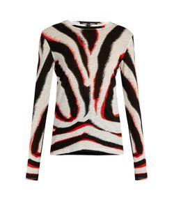Proenza Schouler | Zebra-Printed Jersey T-Shirt