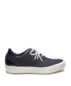 Oamc | Deck Low-Top Canvas And Leather Trainers