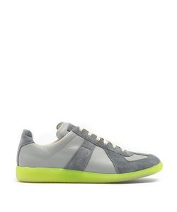 Maison Margiela | Replica Low-Top Leather And Suede Trainers